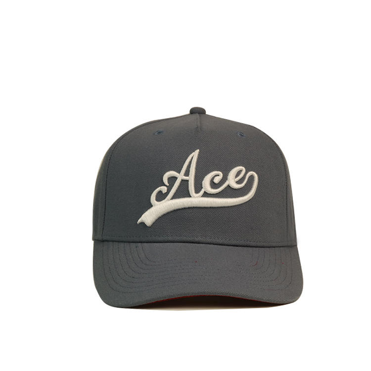 ACE Breathable red baseball cap buy now for fashion-1