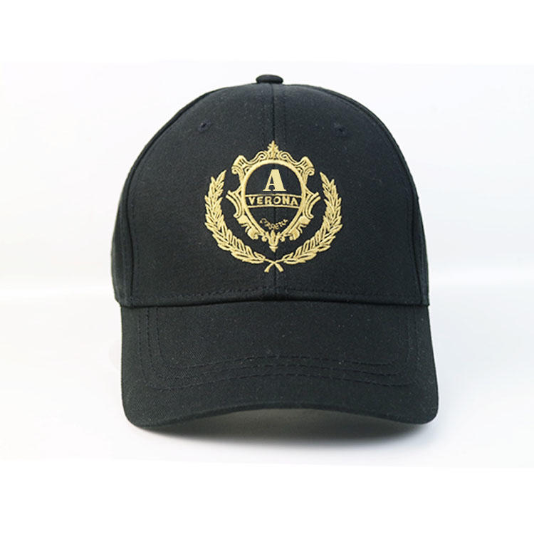 ACE funky black baseball cap free sample for fashion-1