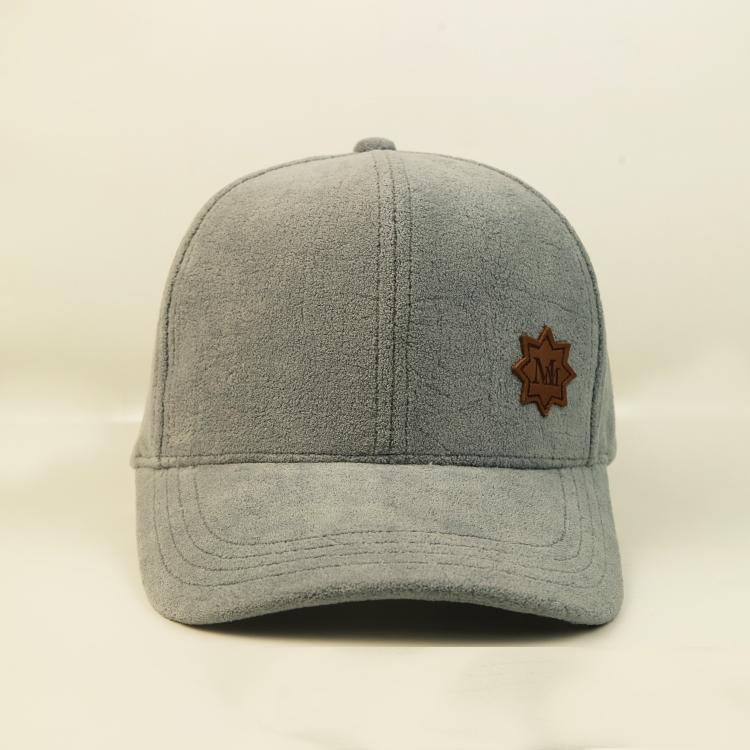 ACE leather black baseball cap mens ODM for baseball fans-1