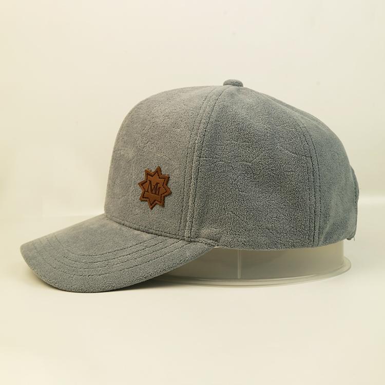 ACE leather black baseball cap mens ODM for baseball fans-3