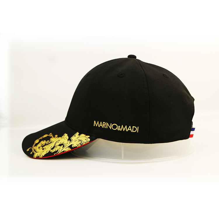 ACE curved custom baseball caps customization for beauty-2
