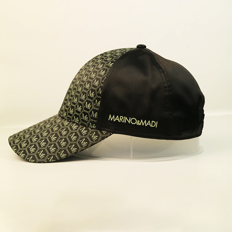 ACE corduroy green baseball cap OEM for baseball fans-2