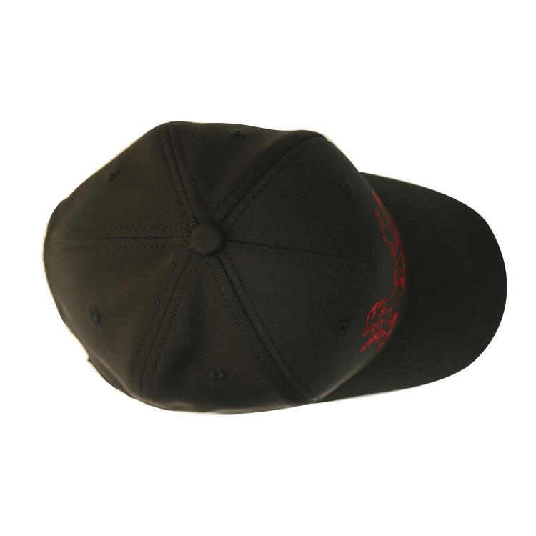 ACE stylish black baseball cap mens free sample for fashion