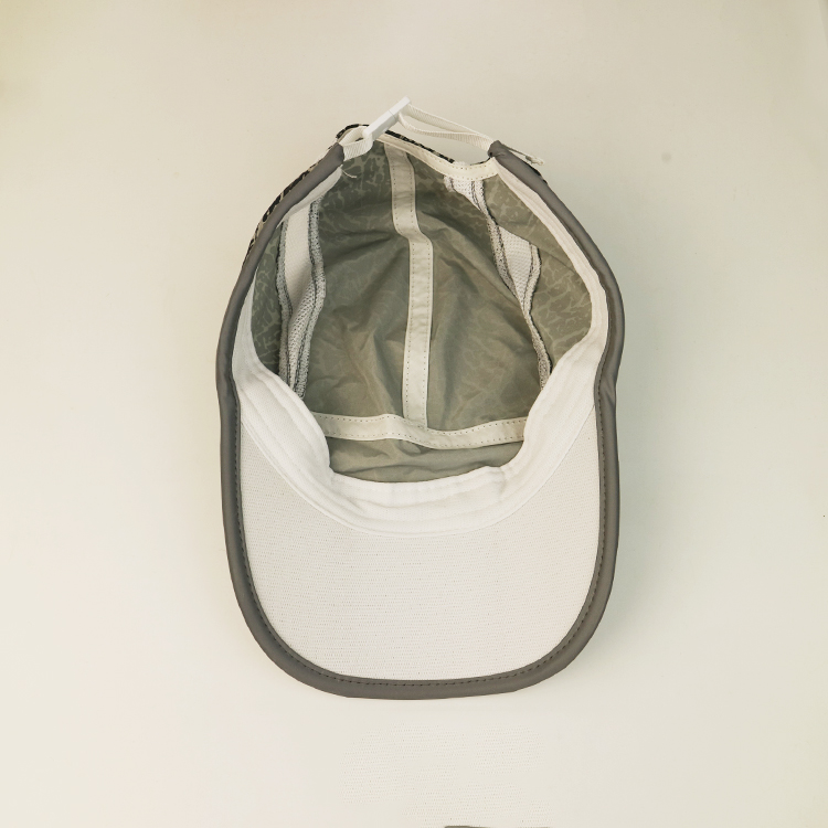 ACE fabric white baseball cap get quote for fashion-3