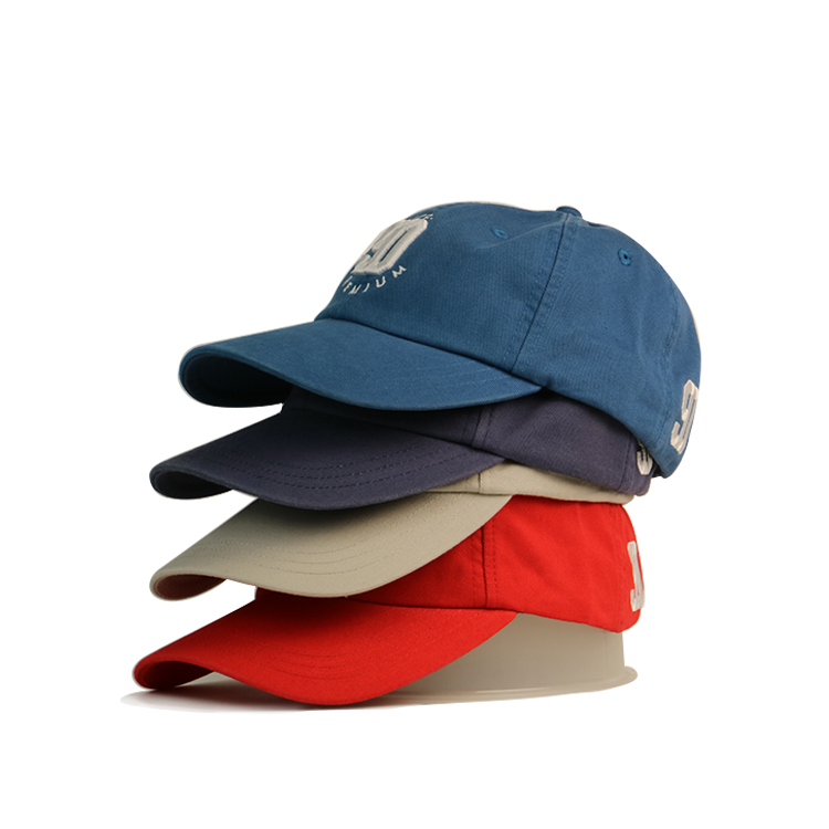portable wholesale baseball caps curved free sample for fashion-3