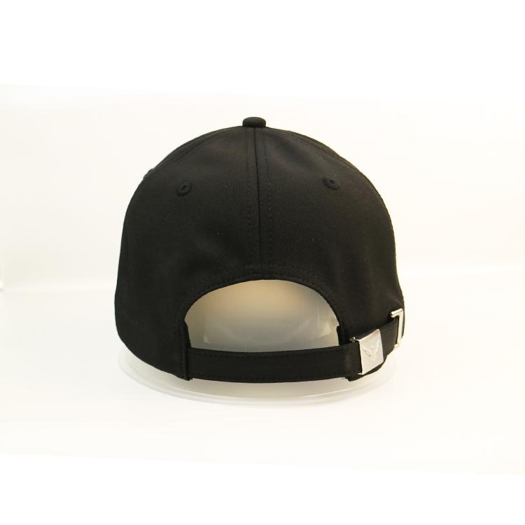 ACE embroidery black baseball cap bulk production for fashion-3