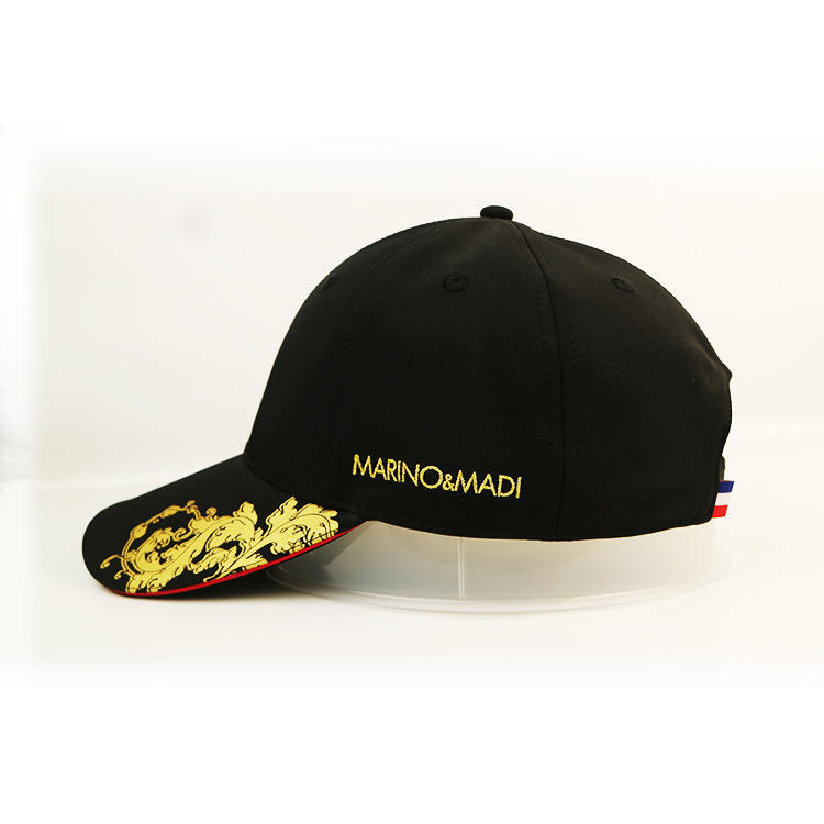 ACE odm leather baseball cap OEM for fashion