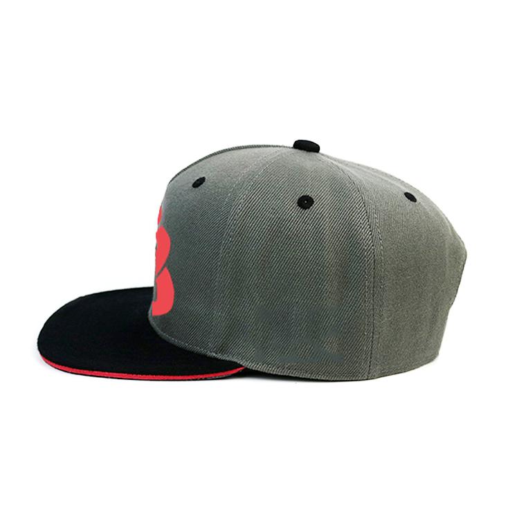 solid mesh mens black snapback hats man OEM for fashion-2