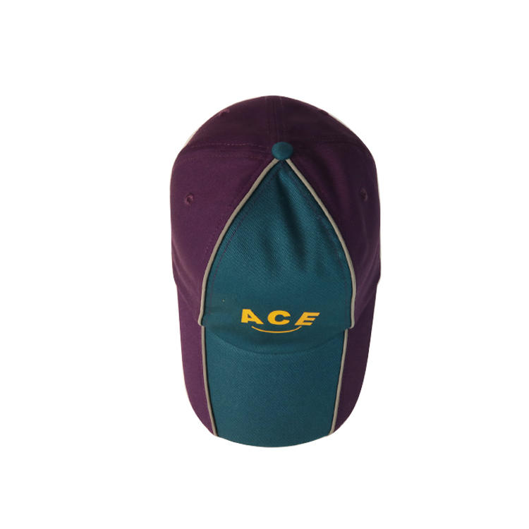 ACE portable plain baseball caps OEM for fashion