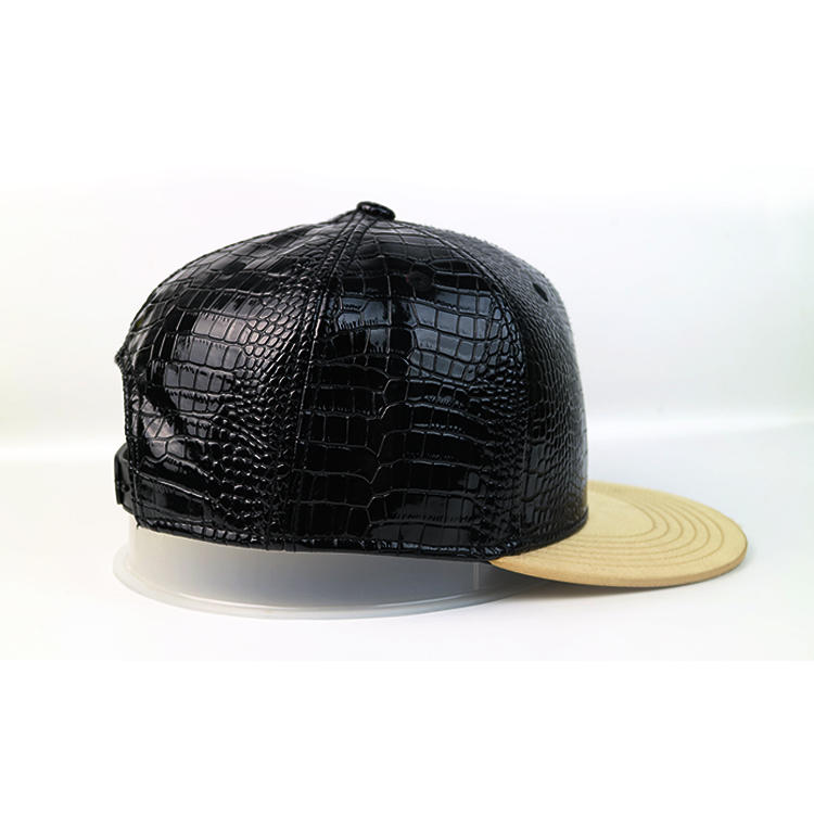 ACE Breathable black snapback hat supplier for beauty