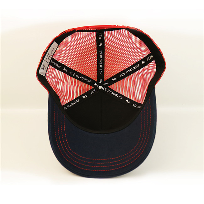 ACE curved blank trucker caps for wholesale for fashion-2