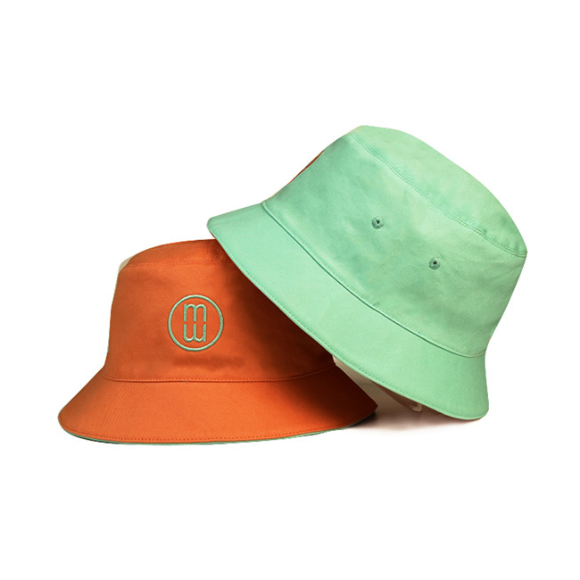 solid mesh white bucket hat sale free sample for beauty-1