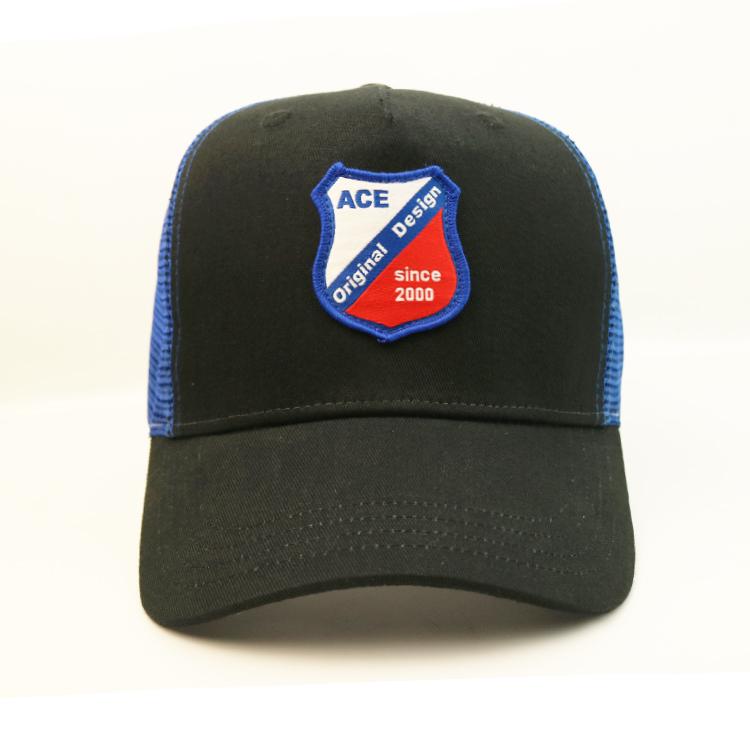 ACE logo trucker cap green free sample for Trucker-1