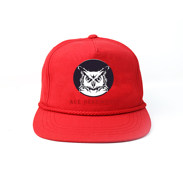 solid mesh custom snapback caps brim supplier for fashion-1