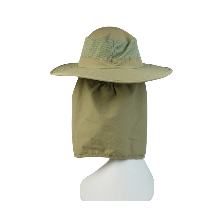 durable blue bucket hat short supplier for beauty-3