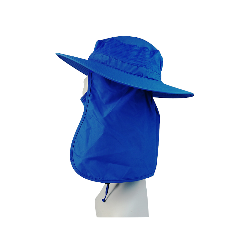Breathable black bucket hat fishing for wholesale for beauty-3
