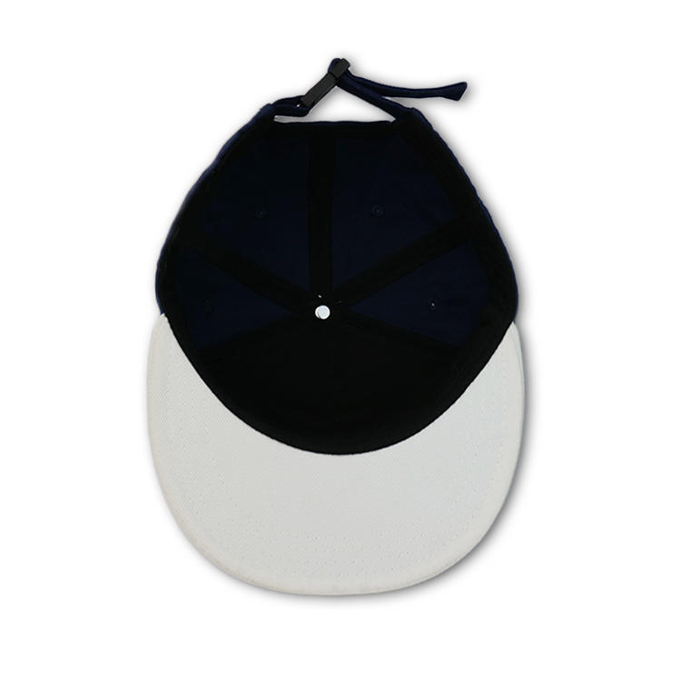 ACE brim white snapback cap customization for fashion