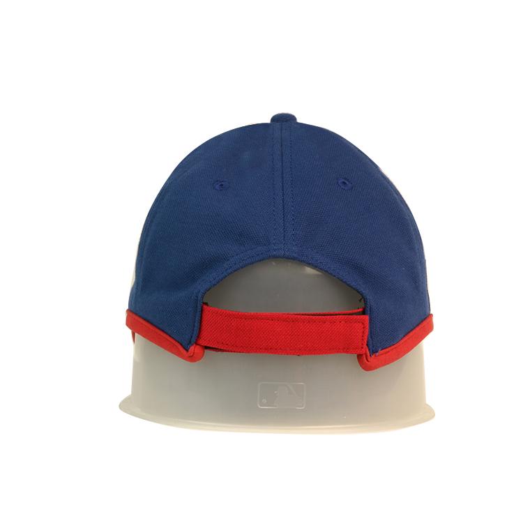 solid mesh fitted baseball caps flower bulk production for baseball fans-3