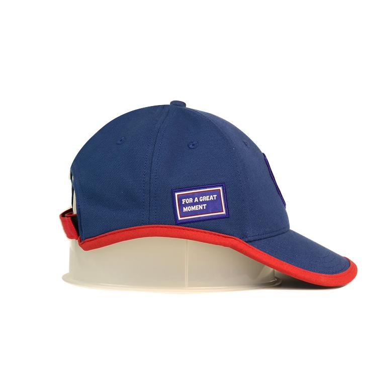 solid mesh fitted baseball caps flower bulk production for baseball fans-4