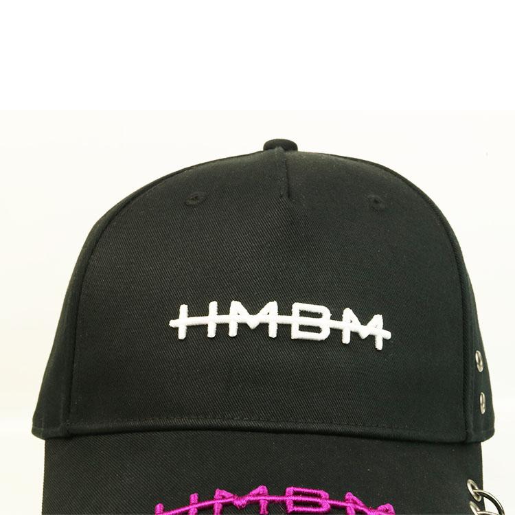 ACE black plain baseball caps ODM for baseball fans-1