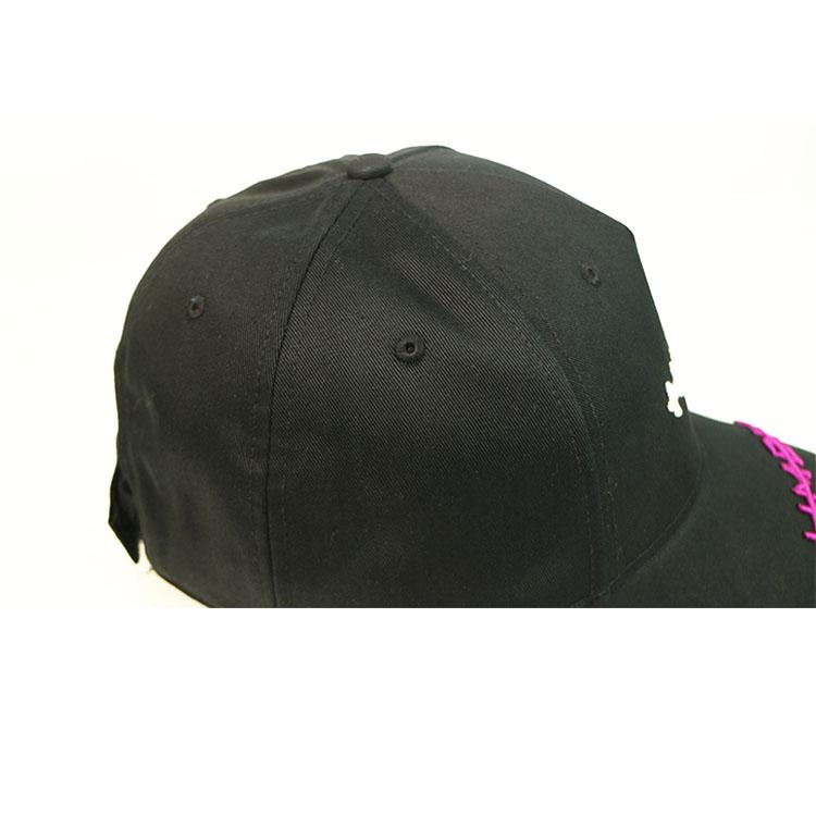 ACE black plain baseball caps ODM for baseball fans-2