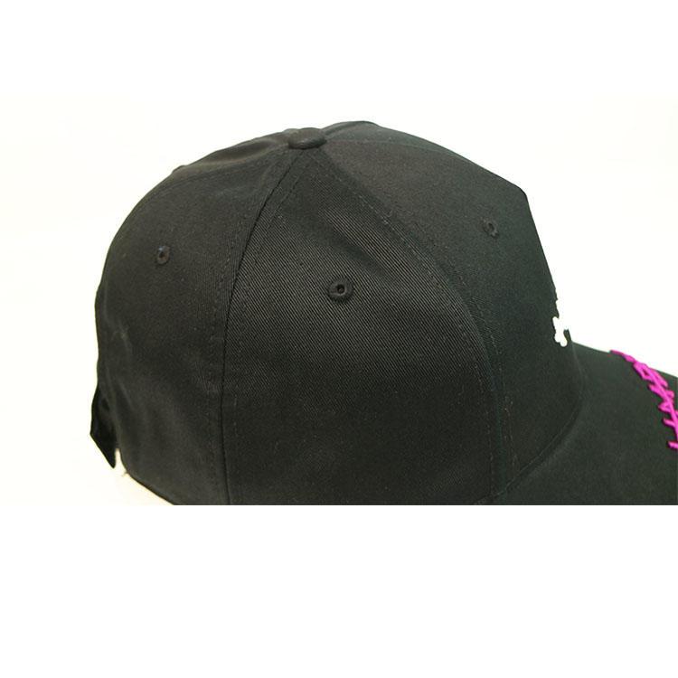 ACE black plain baseball caps ODM for baseball fans