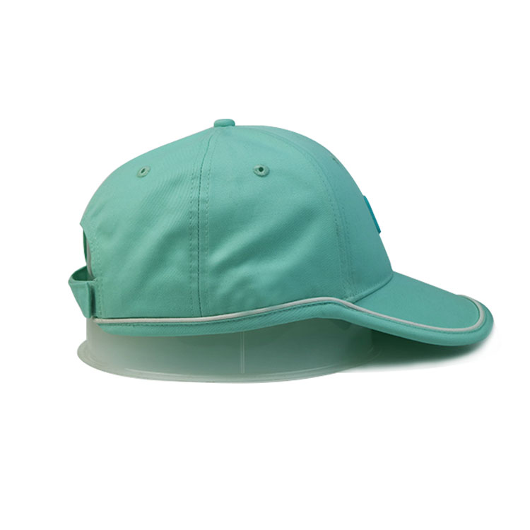 solid mesh womens baseball cap brown for wholesale for fashion-3