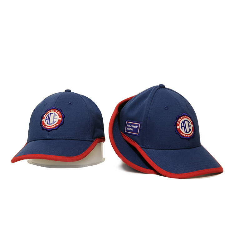 ACE string black baseball cap OEM for fashion