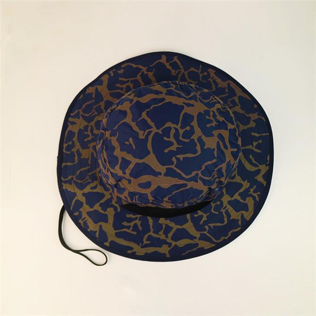 Breathable trendy bucket hats headwear customization for beauty-2