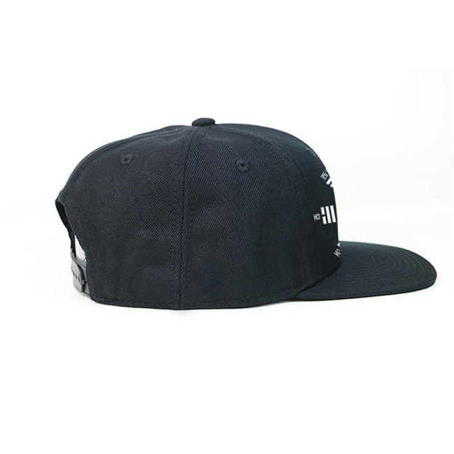 ACE embroidery mens black snapback hats OEM for beauty-2