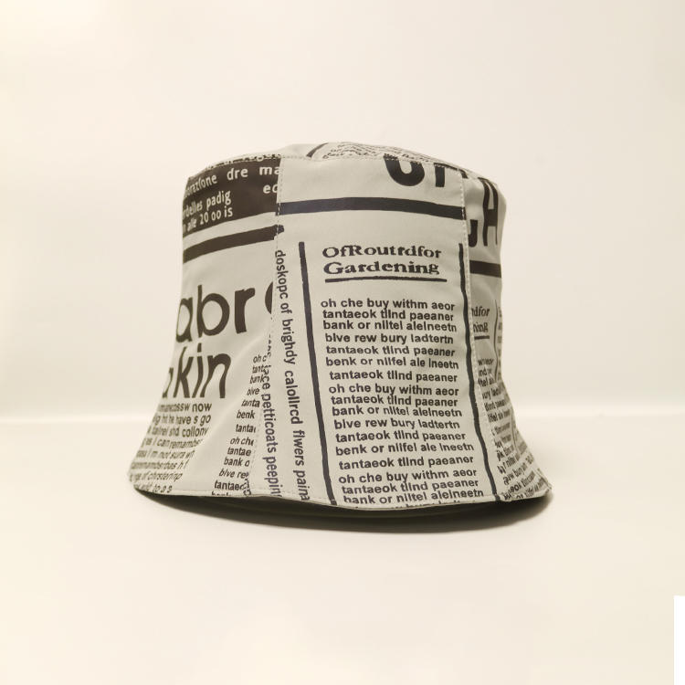 ACE 100 white bucket hat ODM for beauty-3