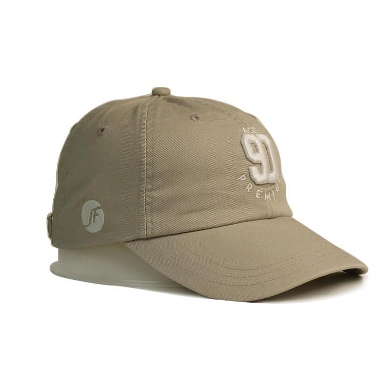 Breathable white baseball cap full free sample for beauty-1