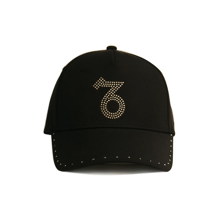 funky fashion baseball caps black customization for beauty-1