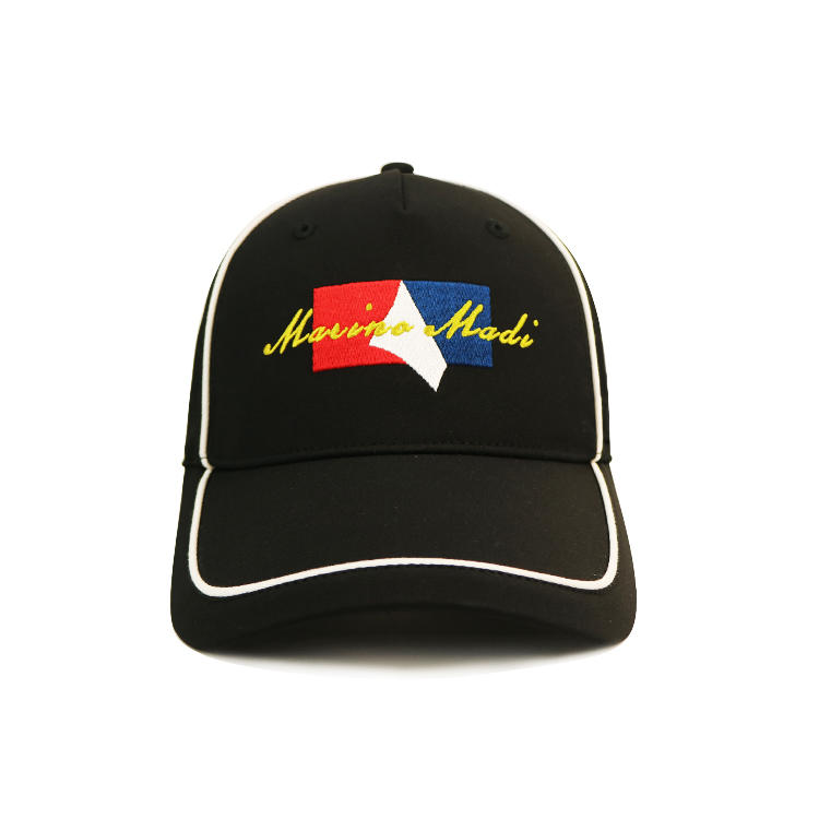 ACE patch embroidered baseball cap free sample for beauty-1
