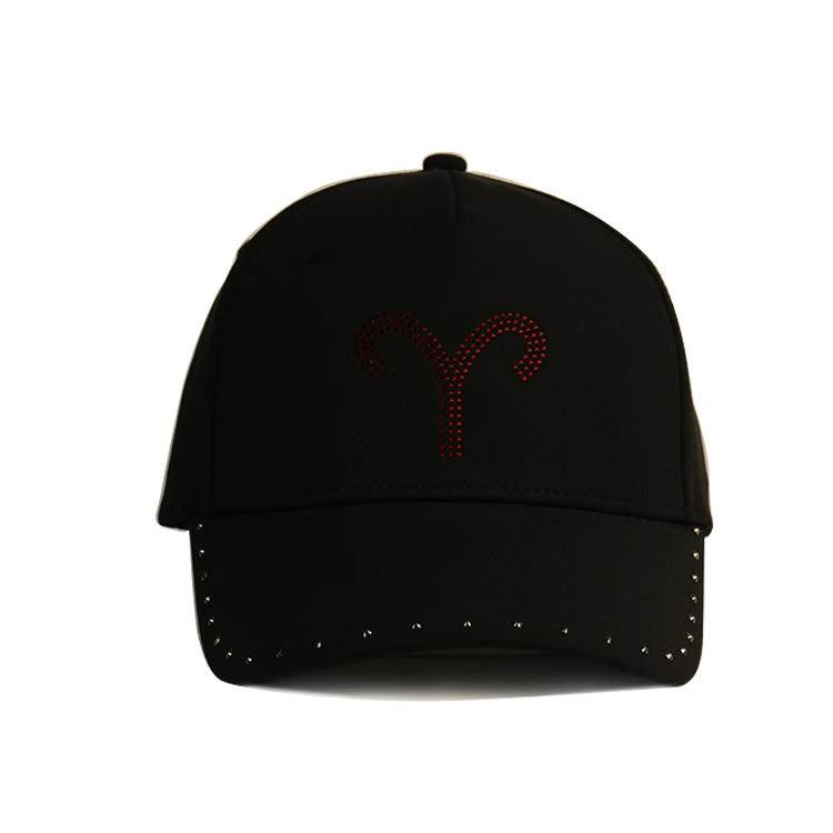 funky fashion baseball caps black customization for beauty-3