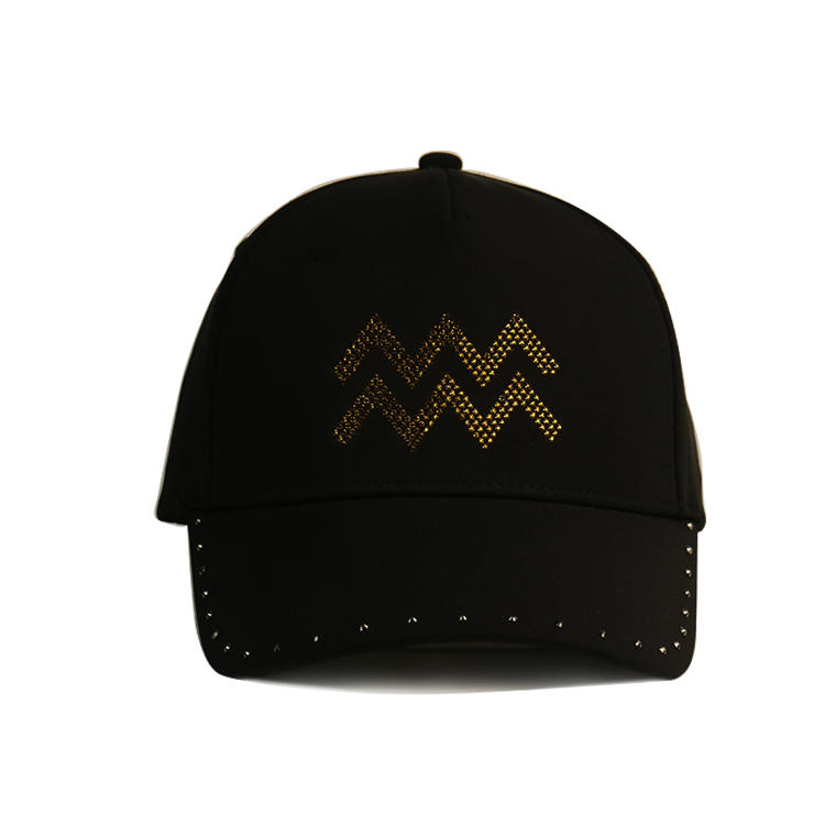 funky fashion baseball caps black customization for beauty-2
