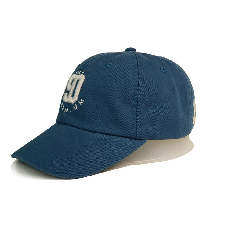 Breathable embroidered baseball caps odm customization for baseball fans-1