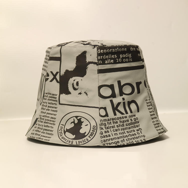 ACE 100 white bucket hat ODM for beauty-1