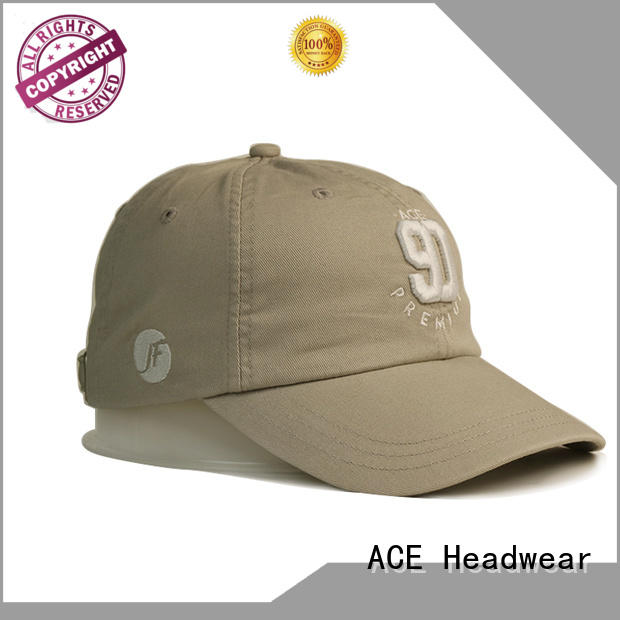 ACE at discount red baseball cap customization for fashion