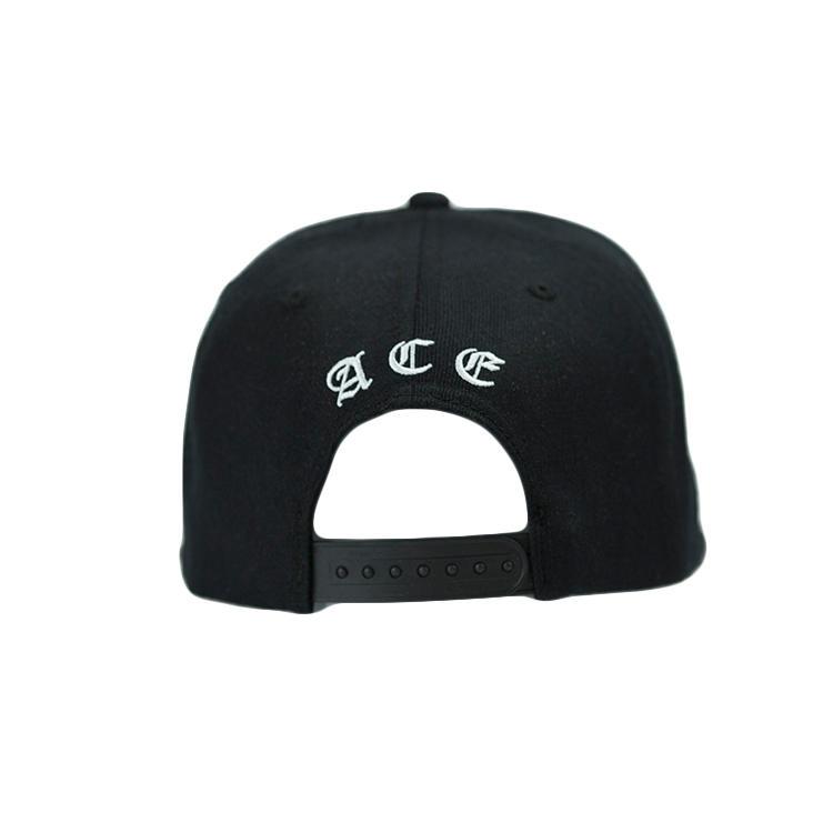 ACE grid blue snapback hat customization for fashion-2