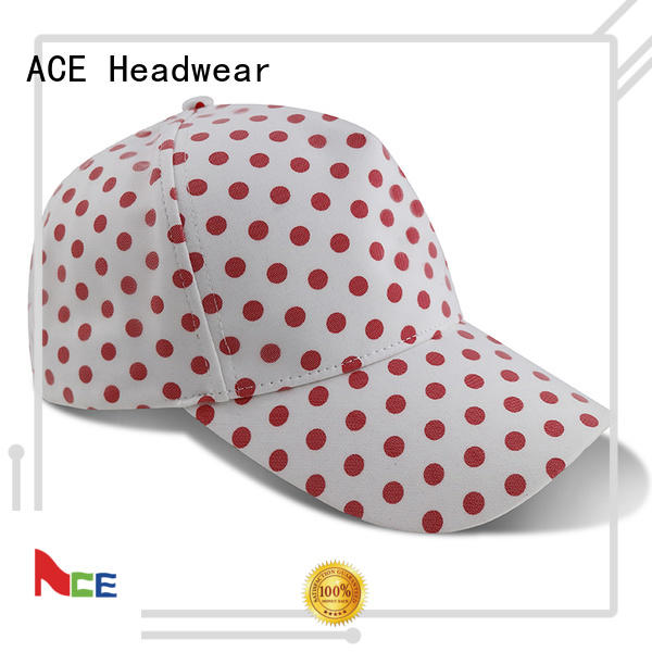 ACE freedom embroidered baseball cap ODM for baseball fans