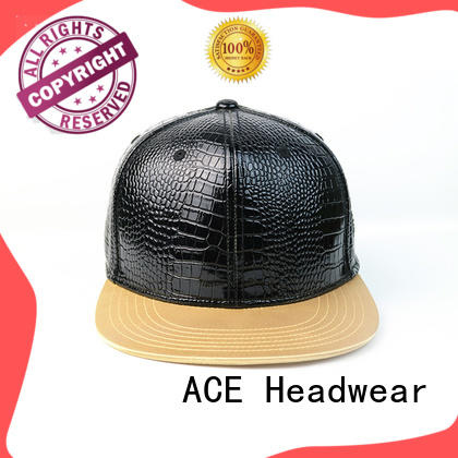 ACE Breathable best snapback caps customization for beauty