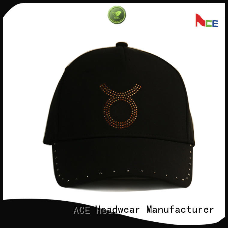 ACE on-sale types of baseball caps free sample for fashion