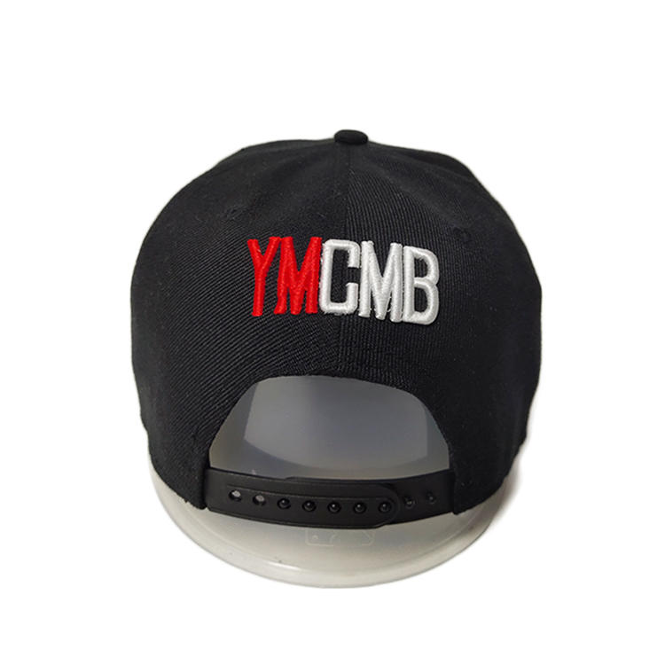 solid mesh mesh snapback hats acrylic for wholesale for fashion-3