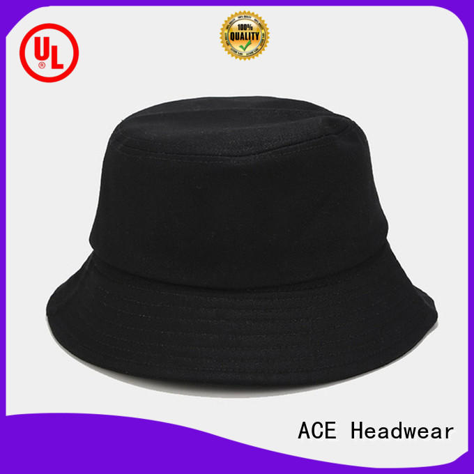 ACE Breathable blue bucket hat bulk production for fashion