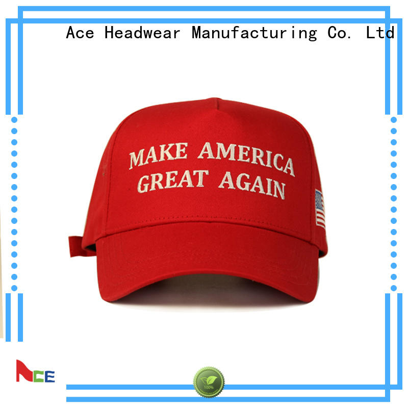 ACE oem white baseball cap customization for beauty