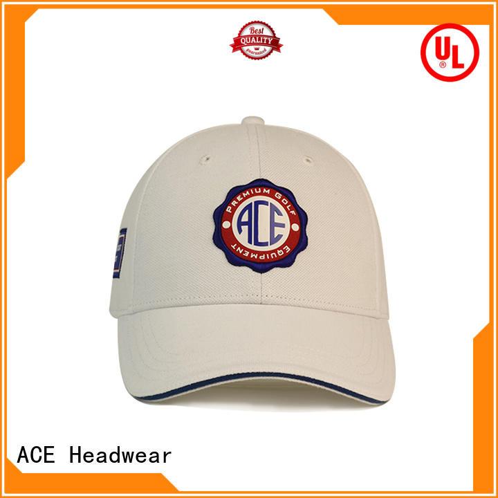 ACE durable best baseball caps free sample for baseball fans