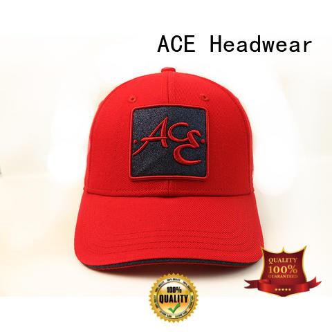 ACE corduroy cool baseball caps OEM for baseball fans