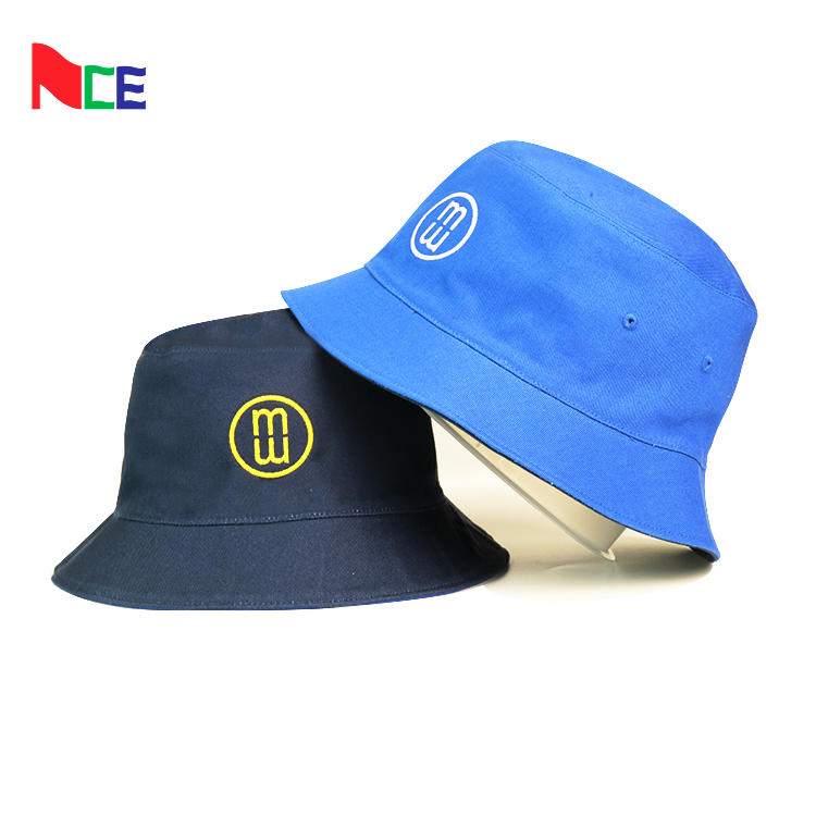 Cheap wholesale bucket hat double sided custom fisherman bucket hat fishing cap