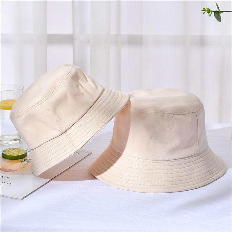 ACE cotton white bucket hat custom logo lady bucket hat blank bucket hat fisherman sun cap